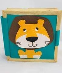 Ulta Pulta lion Mini Quiet Book/ Soft book