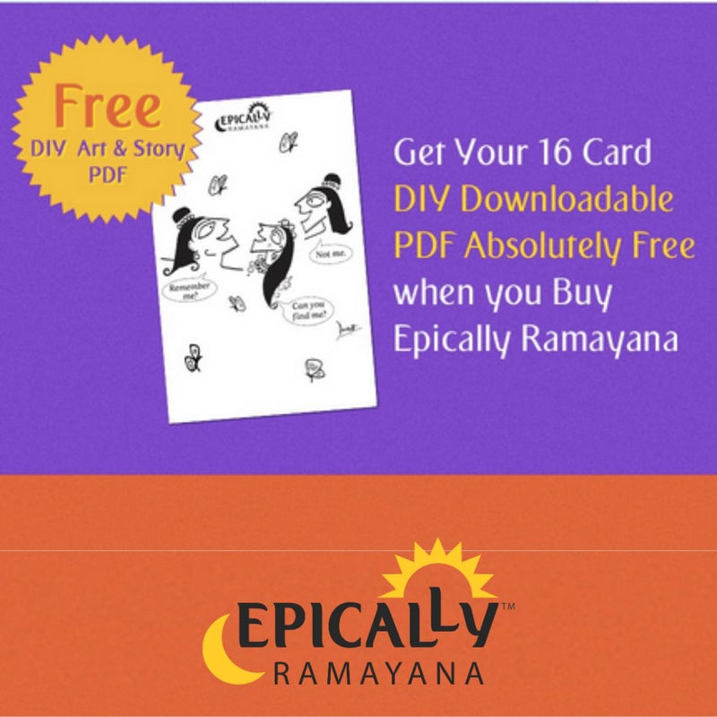 Epically Ramayana - Memory Matching Game for Kids based on Mythology by Devdutt Pattanaik