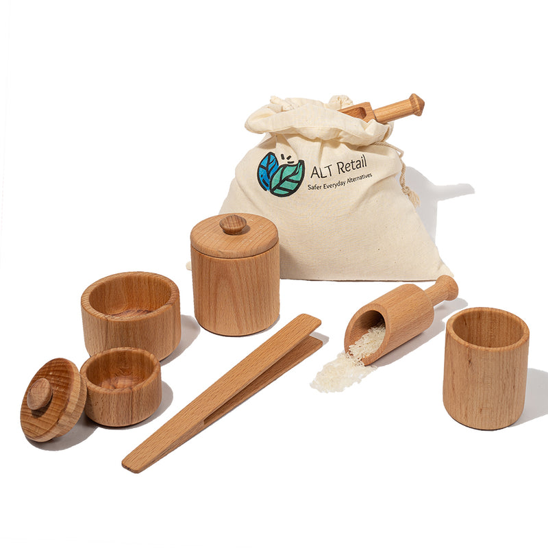 Wooden Sensory Play Tools