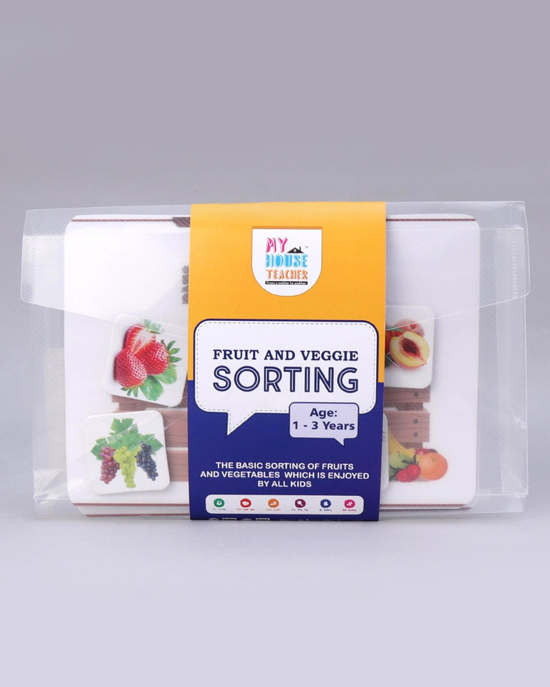 FRUIT AND VEGGIE SORTING ACTIVITY BUSY BAG