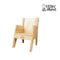 Wooden Arm Chair for Children (Height Adjustable)