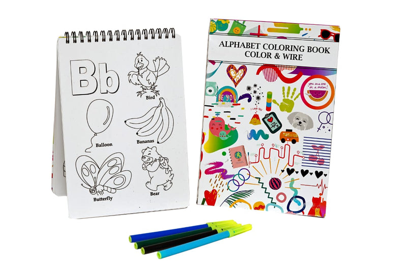 Color And Wipe – Reusable Alphabet Book