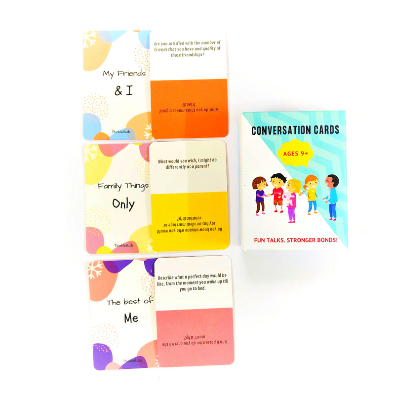 Conversation cards by ThinkleBuds