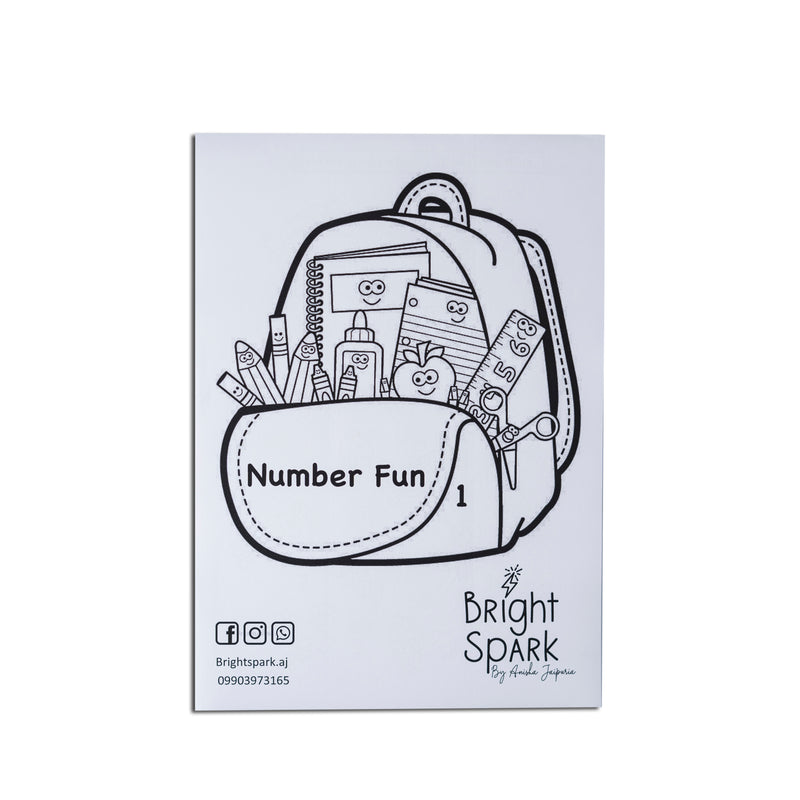 Number fun 1-10 (20 sheets)