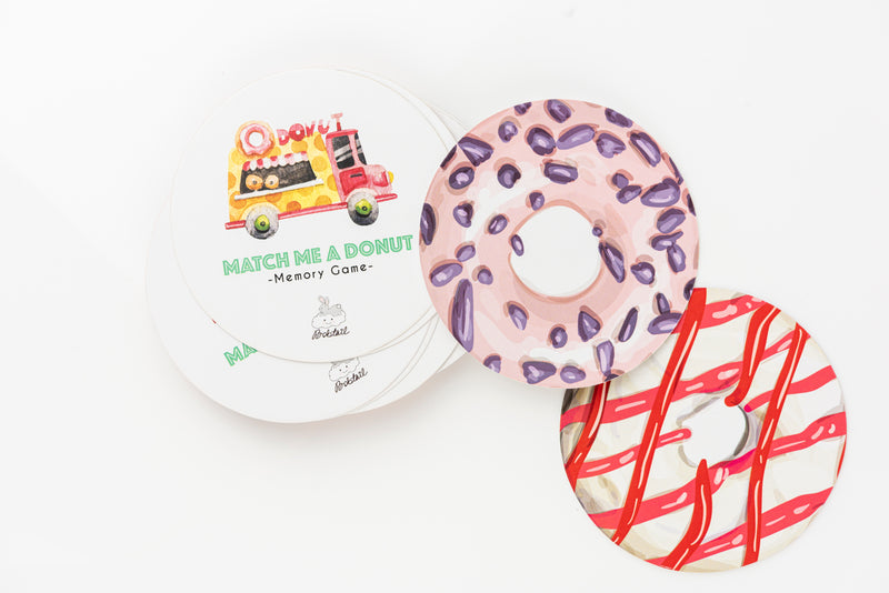 DONUT MEMORY CARDS