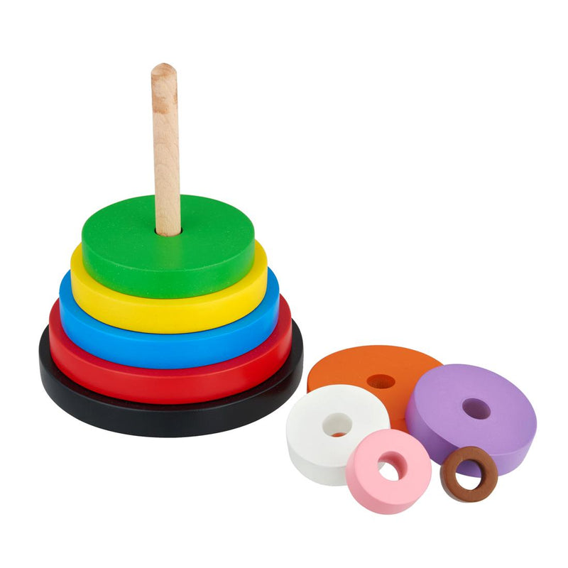 Wooden Circle Stacker