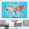 Young Explorers World Map
