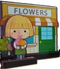 Flower Boutique Wooden Miniature-Pretend Play Set