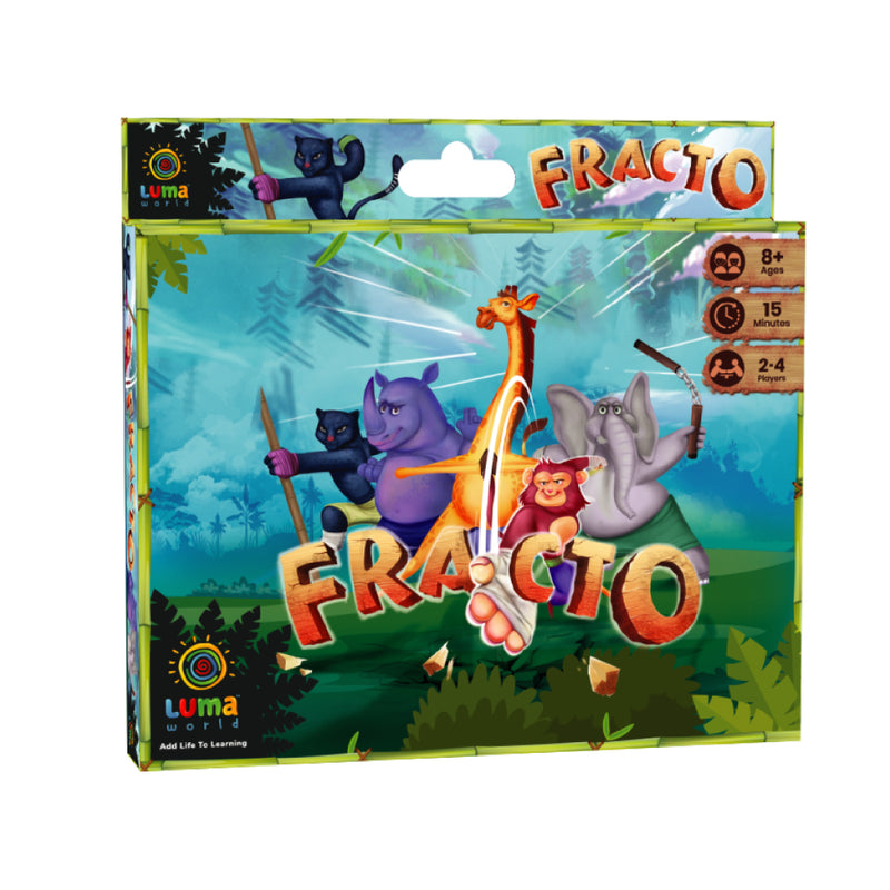 Fracto: A 3-in-1 Educational Card Game