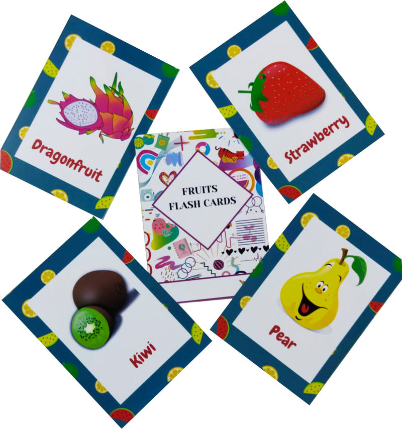 Flash Cards Fruits