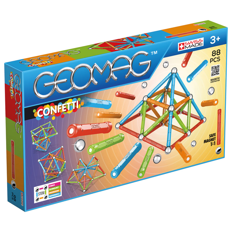 Geomag Classic  - Confetti (3 variants)