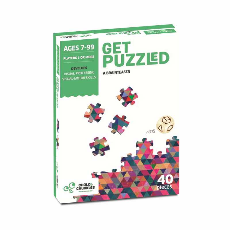 Get Puzzled 40 Piece Jigsaw Puzzles