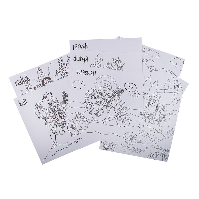 COLOURING AND ACTIVITY SHEETS BUNDLE