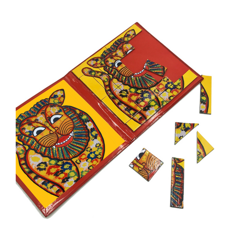 Indian Art - Magnetic Puzzle