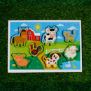 Farm Animals- 3 in 1 Chunky Puzzles