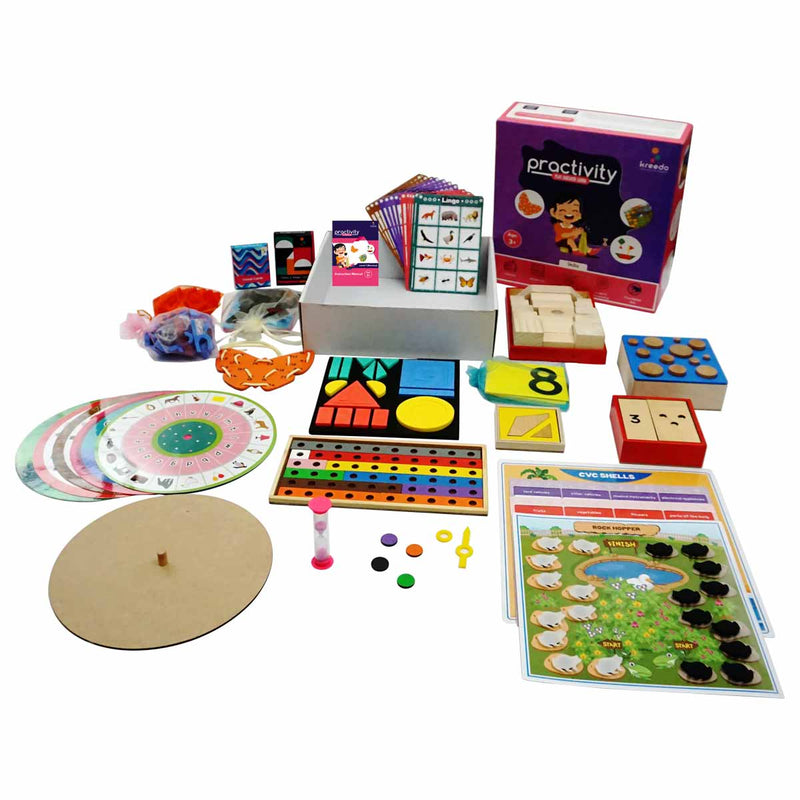 Practivity Toy Box Level 1: For 3-4 Year Olds