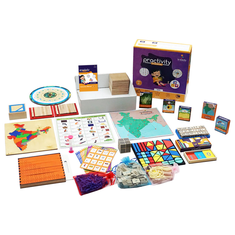 Practivity Toy Box Level 3: For 5-6 Year Olds