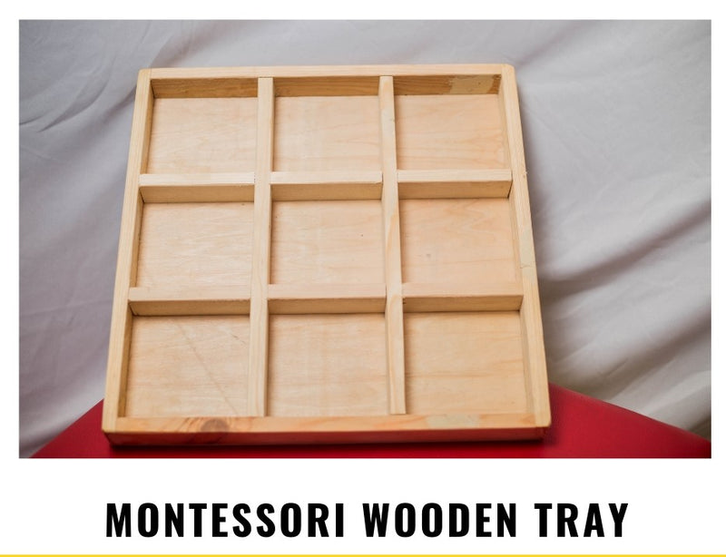 Image of Montessory Wooden Tray