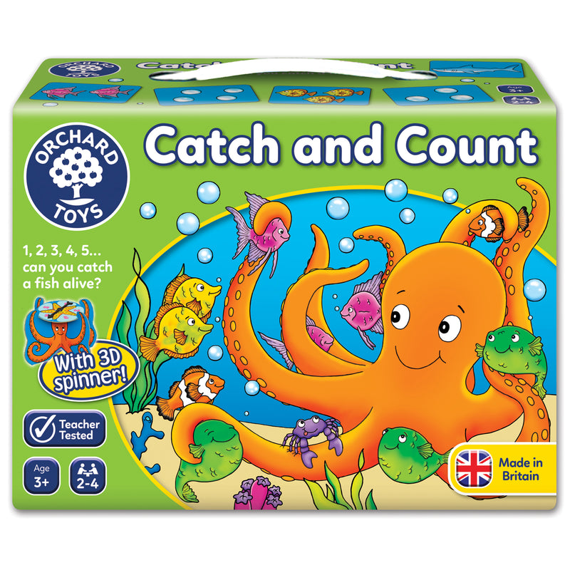 Orchard Toys - Catch & Count