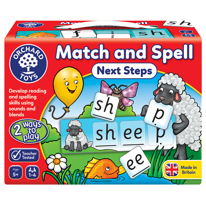 Orchard Toys - Match and Spell - Next Steps