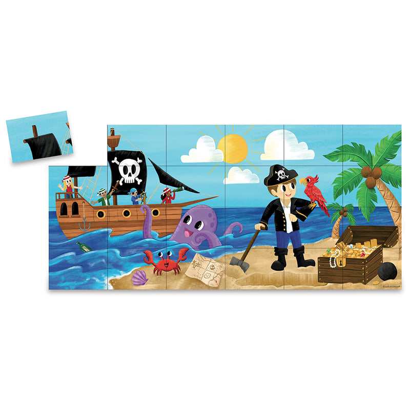Peaceable Kingdom -  Pirate Match Up Game
