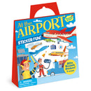 Peaceable Kingdom - Reusable Sticker Tote - At the Airport