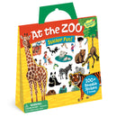 Peaceable Kingdom - Reusable Sticker Tote - At the Zoo
