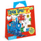Peaceable Kingdom - Reusable Sticker Tote - Train Time