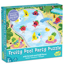 Peaceable Kingdom - Scratch and Sniff Puzzle: Fruity Pool Party
