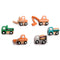 Wooden Construction Vehicle Set