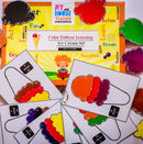 COLOR PATTERN LEARNING ICE CREAM SUNDAE ACTIVITY SET
