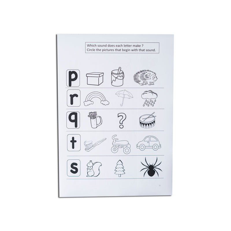 Phonic beginning sounds - 50 sheets