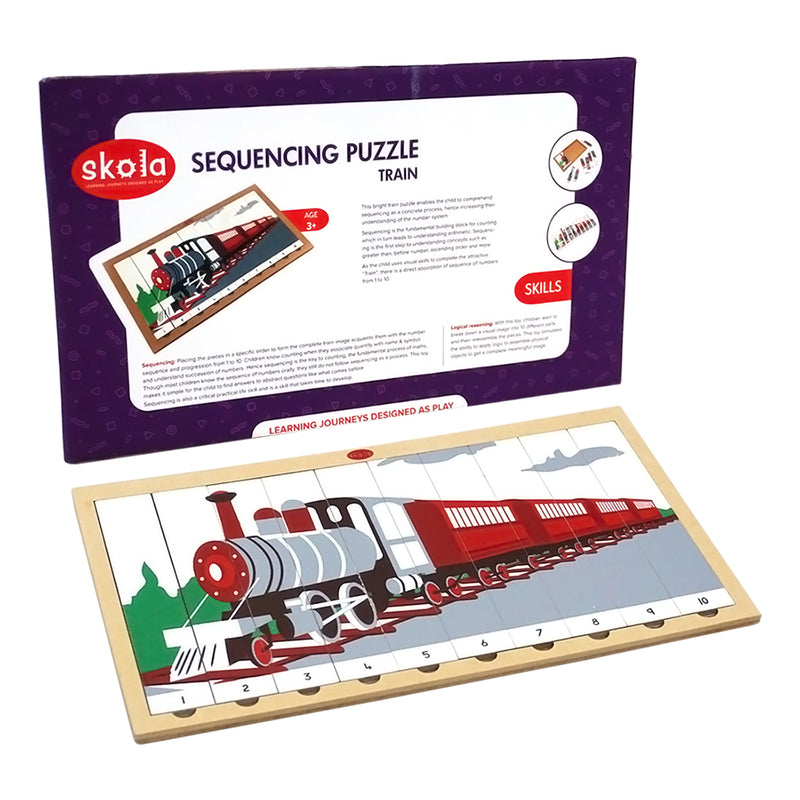 Sequencing Puzzle Train