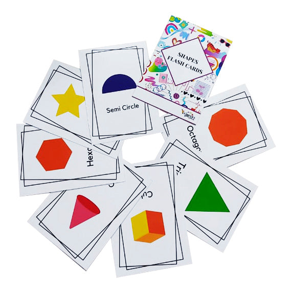 Flash Cards Shapes