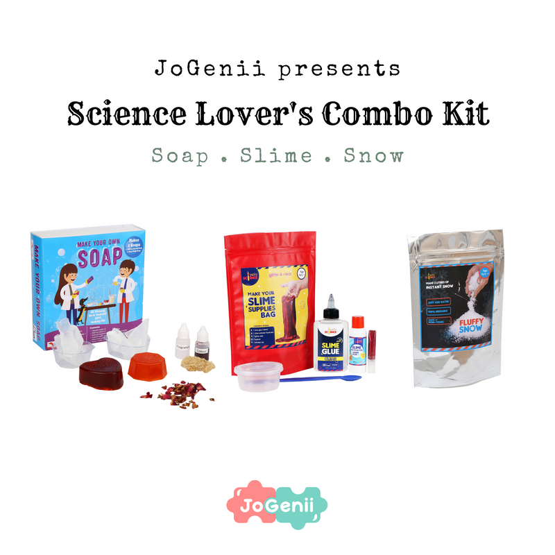 JoGenii Science Lover's Combo Kit
