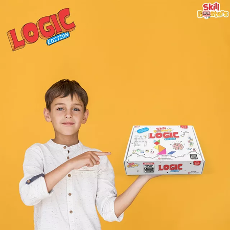 Skill Booster-Logic Edition (6-8 years age)