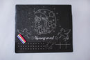 Unicorn Chalkboard Wipe and Clean Activity Mats Set of 3