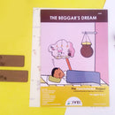 The Beggar's Dream - Workbook and 2 DIY Bookmarks - 4 to 7 yrs