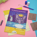The Elephant and the Hare - Workbook and 2 DIY coasters - 4 to 7 yrs