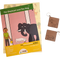 The Elephant and the Dog - Workbook and 2 DIY keychains - 4 to 7 yrs