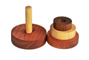 Thasvi Three Discs Stacker (natural)  (1 year +) - Touch. Feel. Explore.
