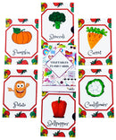 Flash Cards Vegetables