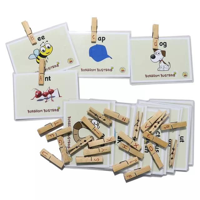 Letter Phonetics Flashcards for Age 4 years above