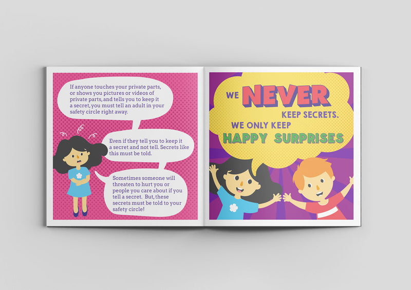 Keep your child safe: Body Safety Bookset