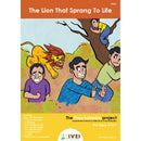 The Lion That Sprang To Life - Workbook and 2 DIY magnets - 4 to 7 yrs