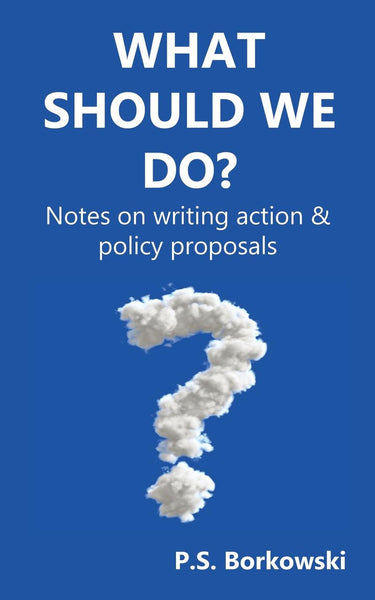 What Should We Do? Notes on Writing Action & Policy Proposals