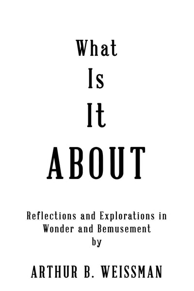 What Is It About: Reflections and Explorations in Wonder and Bemusement