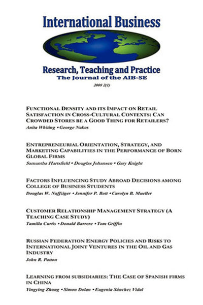 International Business: Research, Teaching and Practice, The Journal of the AIB-SE