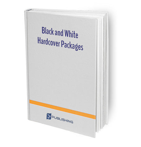 Black and White Hardcover Packages