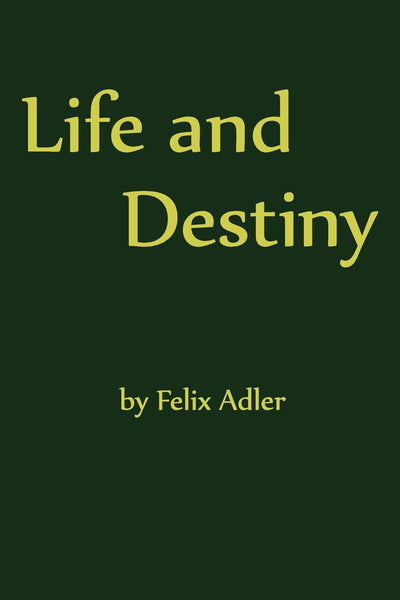 Life and Destiny